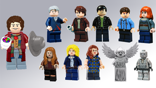 Illustration for article titled A Doctor Who Lego set is one step closer.