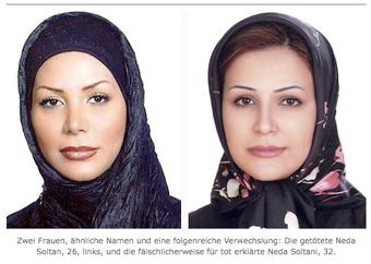Illustration for article titled Neda's Doppelganger Lives In Exile