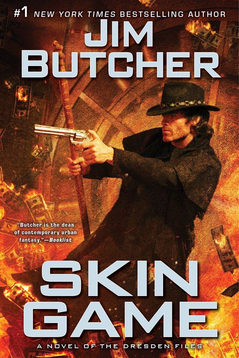 Illustration for article titled The first chapter for Jim Butcher's Skin Game is available to read