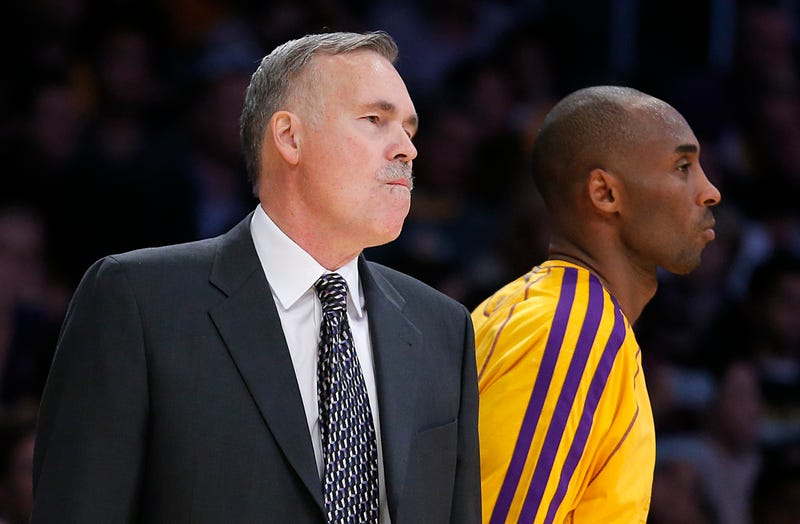 """Illustration for article titled Report: Kobe Bryant Has """"No Interest"""" In Playing For Mike D'Antoni"""