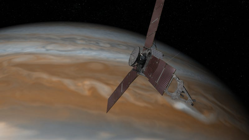 Something Went Wrong With the Juno Spacecraft's Engine