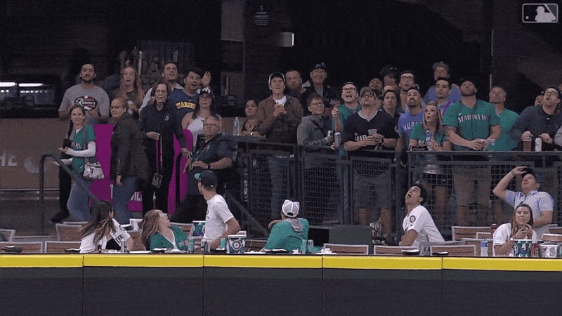 This Is Not The Best Way To Try And Catch A Home-Run Ball