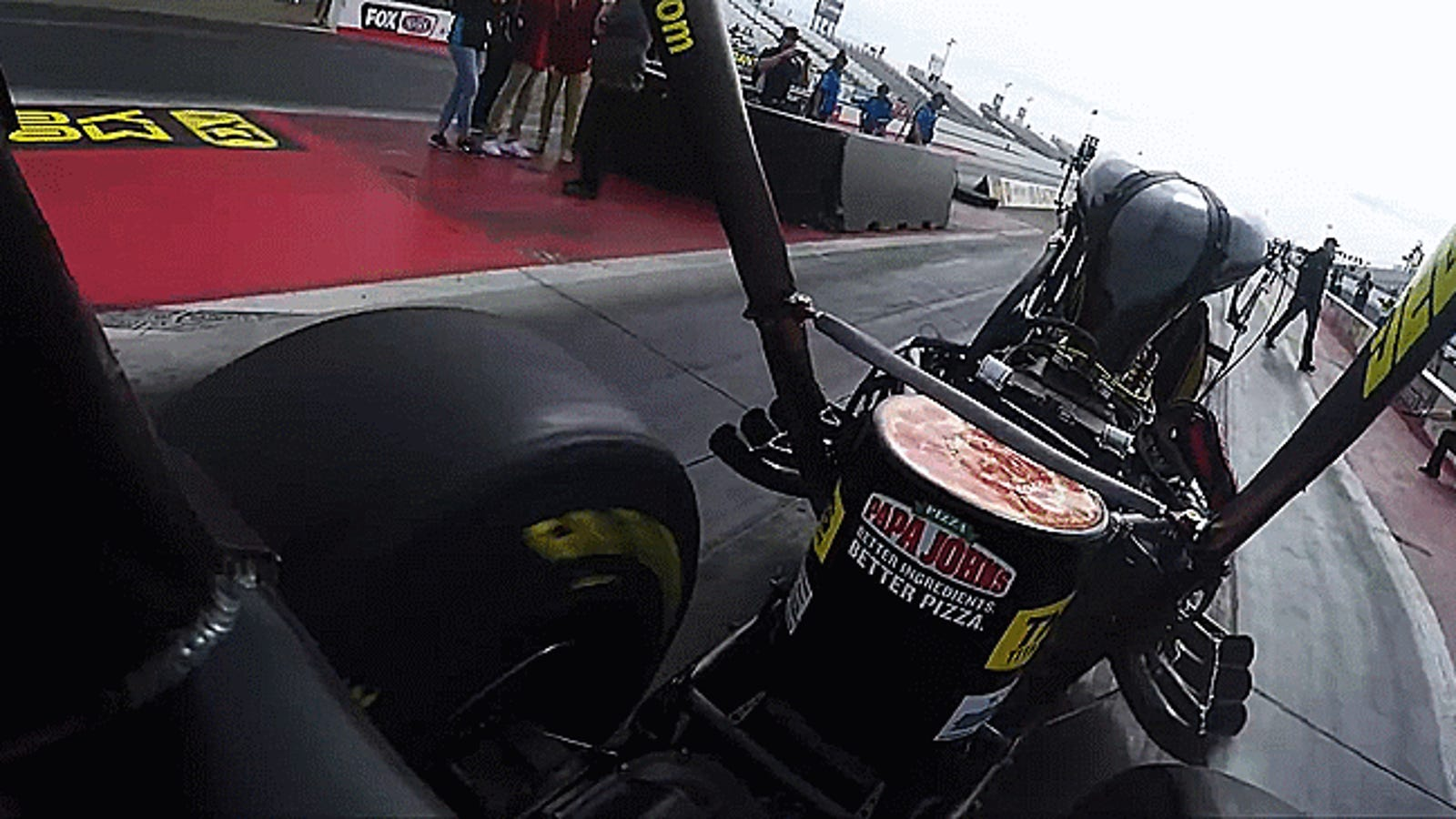 How To Crush A Record In An 11,000 Horsepower Top Fuel Dragster