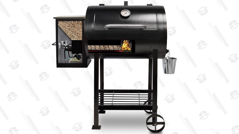Pit Boss 700 sq. in. Wood Pellet Smoker | $337 | Walmart