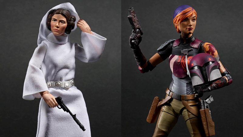 Illustration for article titled Hasbro's New Star WarsToys Feature Some Amazing Female Heroes