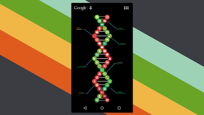 Illustration for article titled The Double Helix Home Screen