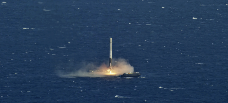 spacex finally managed to land its falcon 9 reusable rocket on its autonomous drone ship out at sea after four unsuccessful attempts with plans for at