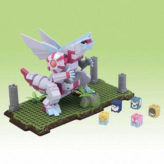 Illustration for article titled Pokemon Legos Make Dialga and Palkia Even Awesomer