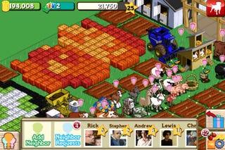 Illustration for article titled FarmVille Hits iTunes, Productivity Plummets