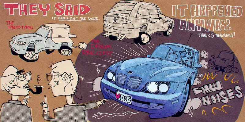 Illustration for article titled Mr. Regular Explains How The Ludicrous BMW M Coupe Will Transform How You Drive