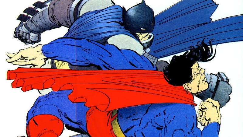 Illustration for article titled Frank Miller may be consulting on Batman vs. Superman