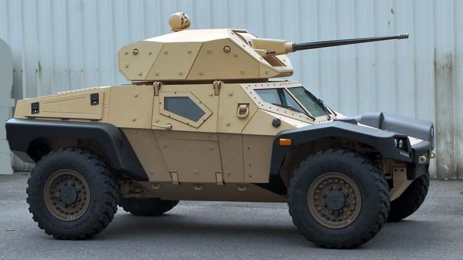 Punch Buggy Car >> Panhard's Crab May Just Be The Future Of Armored Scout ...