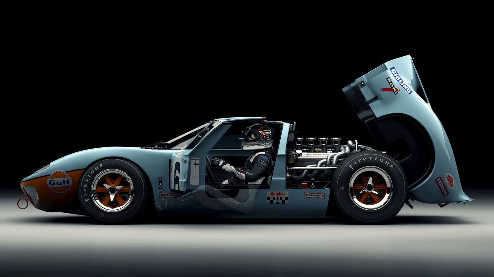 why exactly was the ford gt40 one of the greatest cars ever made. Black Bedroom Furniture Sets. Home Design Ideas