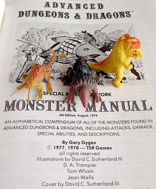 Illustration for article titled The Surprising Inspiration for Dungeons & Dragons' Weirdest Monsters