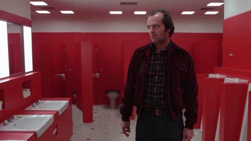 Illustration for article titled And here's what The Shining looks like without Delbert Grady