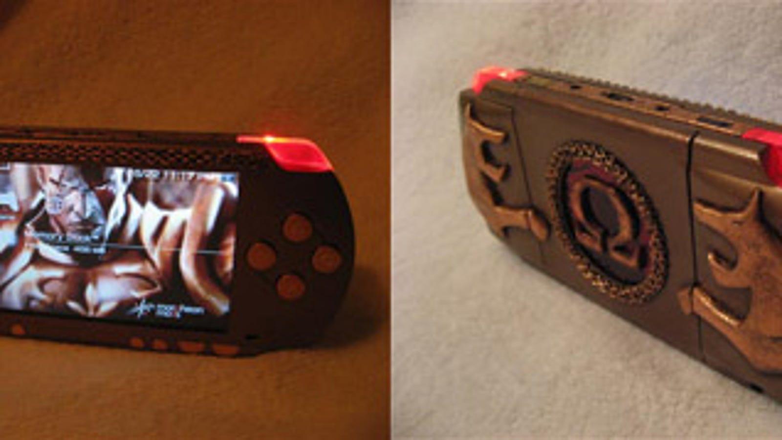 Sony PSP God of War Mod Looks Bloodthirstily Fantastic