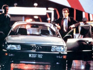 Illustration for article titled When James Bond drove Audi 200s