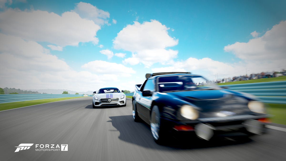 Playing Forza Motorsport 7 In 4K Spoils The Hell Out Of You