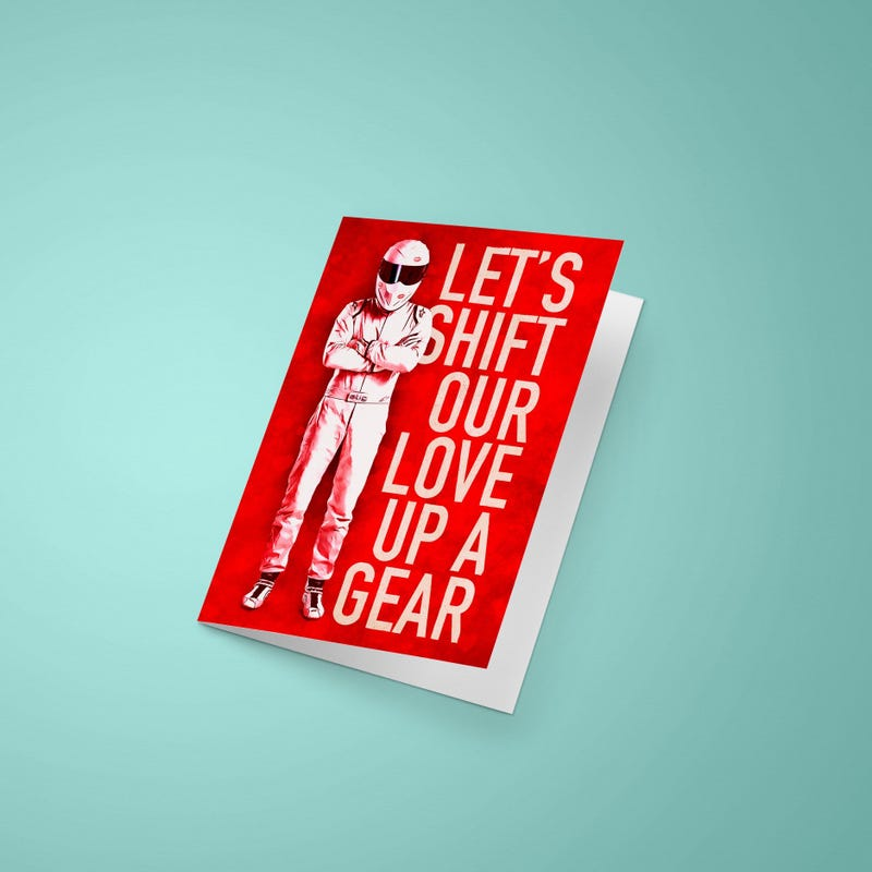 Illustration for article titled Valentine's Day with the Stig