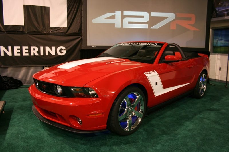 Illustration for article titled 2010 ROUSH 427R Mustang: Live Unveil Of The New 435 HP Boy Racer!