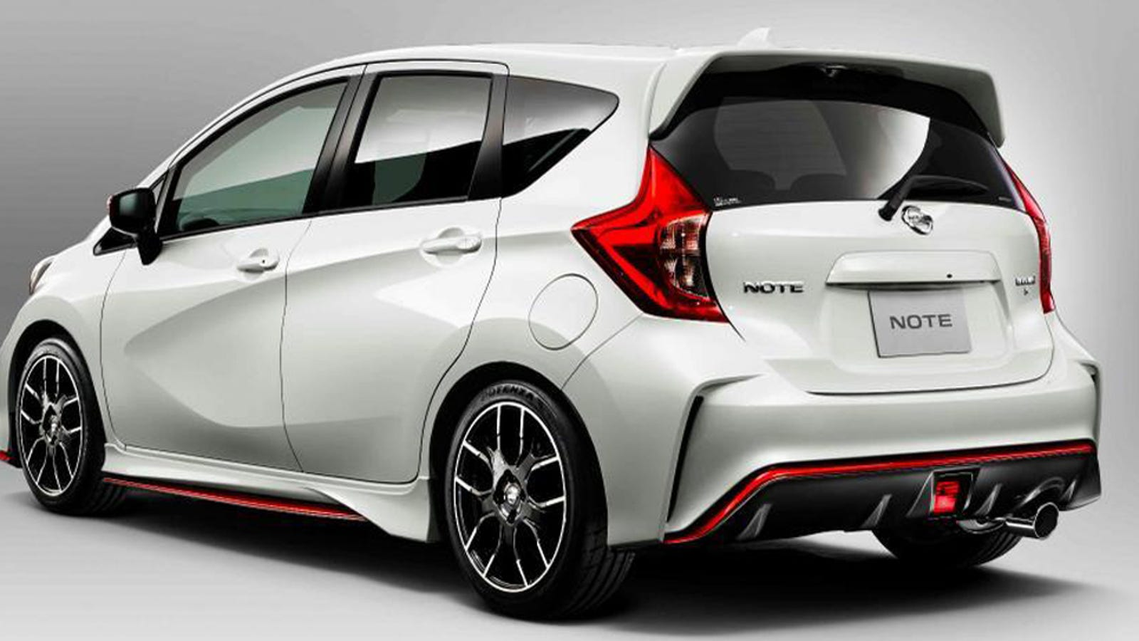 the nissan versa note nismo proves you can nismo anything. Black Bedroom Furniture Sets. Home Design Ideas