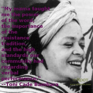 Toni Cade Bambara (Wikipedia Commons)