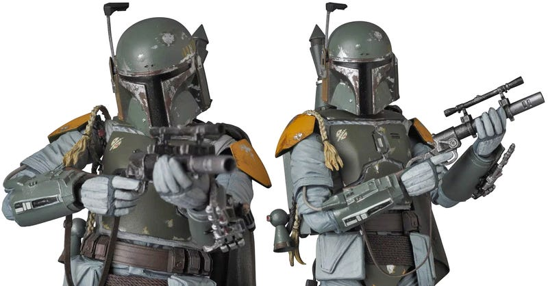 Illustration for article titled No, Maybe Thisis the Best Boba Fett Figure Ever Made