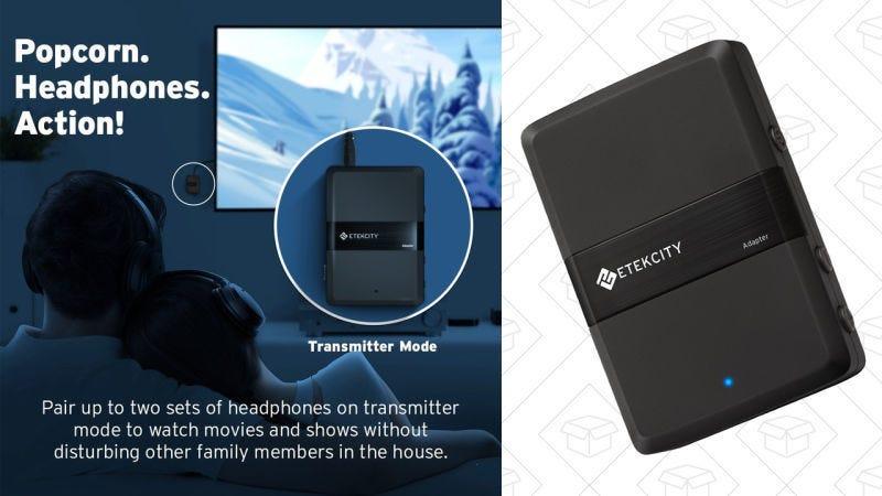 Receptor/Transmisor de Bluetooth Etekcity, $22 con código PROKINJA