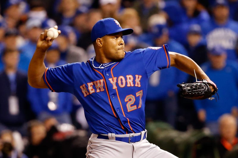 Jeurys Familia of the New York Mets in 2015Sean M. Haffey/Getty Images
