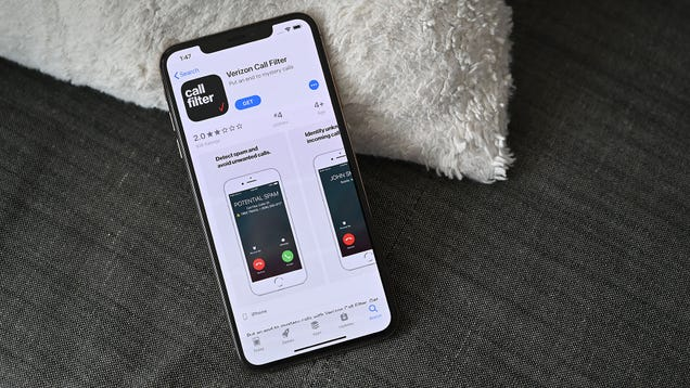 Verizon s Spam-Blocking Call Filter Is Now Free