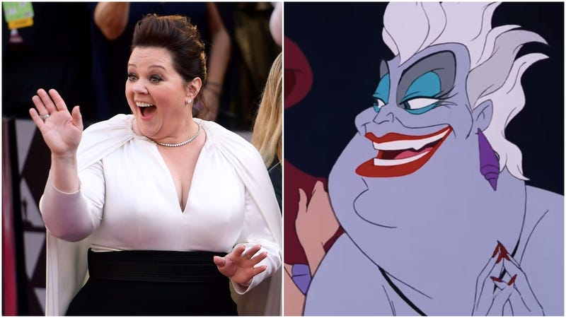 Illustration for article titled Melissa McCarthy might grow some tentacles for Disney's live-action The Little Mermaid
