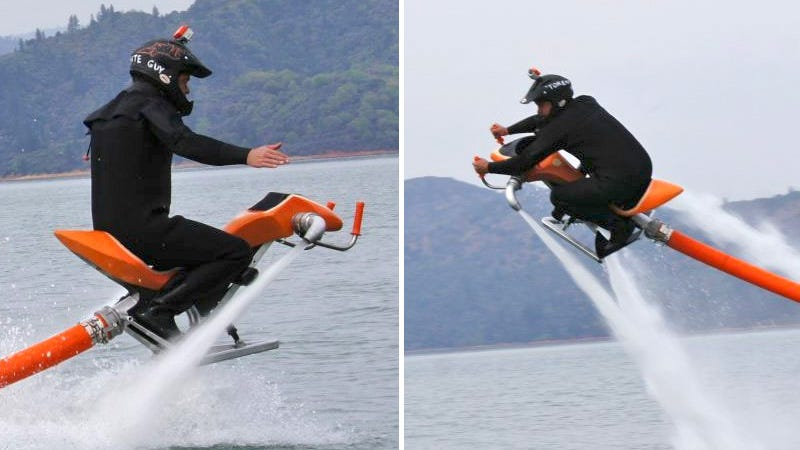 Illustration for article titled This Jetbike Looks Like the Most Fun You Could Ever Have On the Water