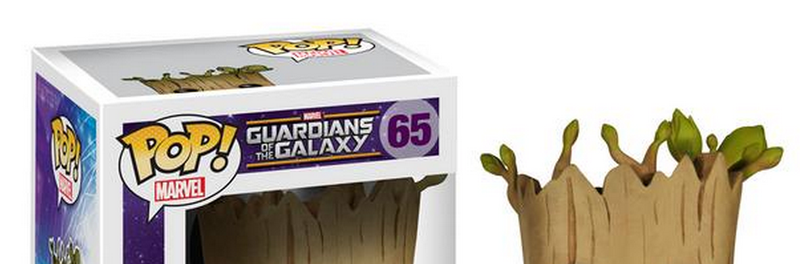 Illustration for article titled Here's The First Official (Spoiler) Groot Toy