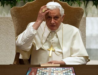 Illustration for article titled Papal Infallibility Invoked To Allow Scrabble Word