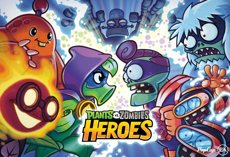 Plants vs. Zombies Heroes Available on Mobile Platforms