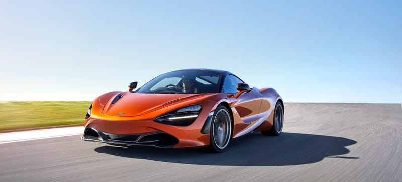 Illustration for article titled 2018 McLaren 720S: This Is More Of It