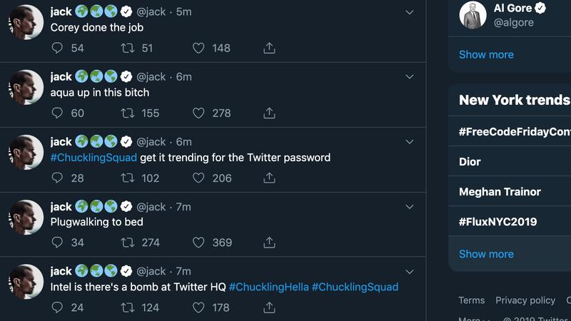 Illustration for article titled Hackean la cuenta de Twitter de Jack Dorsey, el fundador y director de Twitter