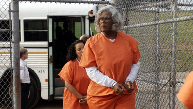 Illustration for article titled Madea Goes To Jail