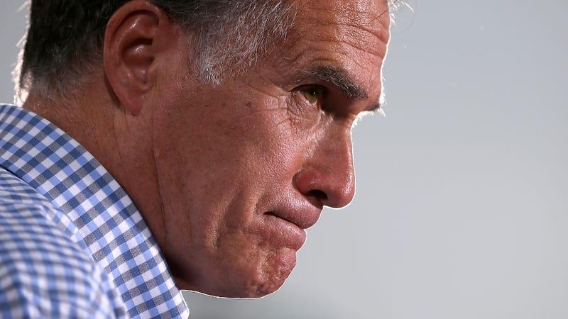 Illustration for article titled Mitt Romney's Dark Secret Is Spray Tans