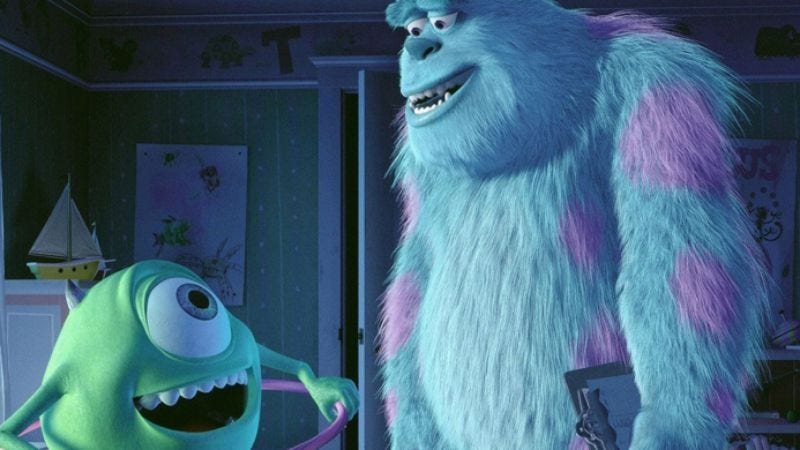 Illustration for article titled That Monsters Inc. sequel is now a prequel
