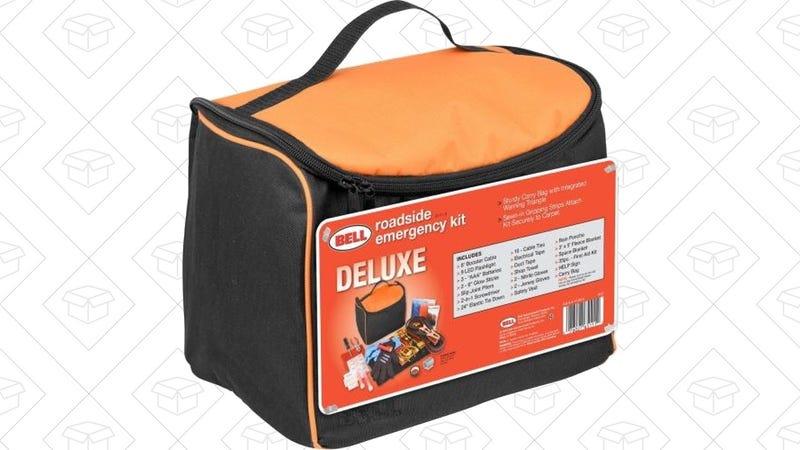 Bell Automotive Roadside Emergency Kit, $16