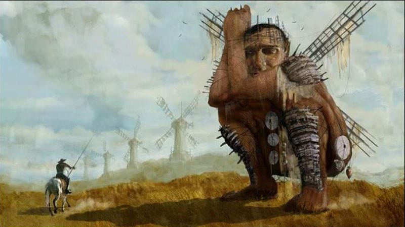 Illustration for article titled Terry Gilliam making yet another attempt at filming Don Quixote