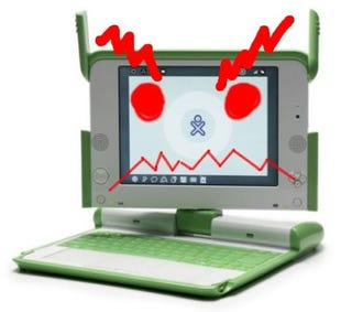 Illustration for article titled XO OLPC Overclocked: Now it Means Business (Kind of)