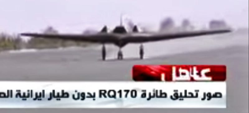 Illustration for article titled Iran's Flying RQ-170 Sentinel 'Copy' Is More RC Toy Than Drone