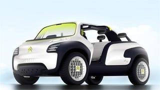 Illustration for article titled Citroën Lacoste Concept: Pretty Preppy Trendy Crap