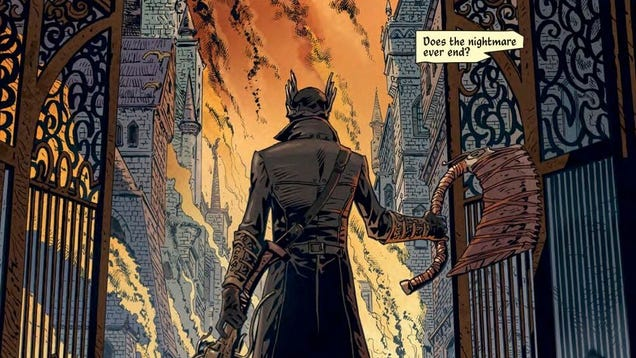 The Bloodborne Tie-In Comic is a Compelling Introduction to a Nasty World - hfelmd1iawm8lsdndn0b