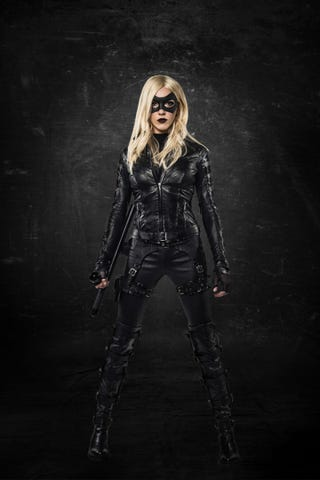 Illustration for article titled First Look At Arrow's All New Black Canary!