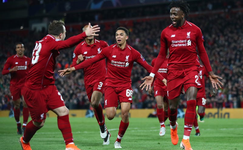 Illustration for article titled Liverpool Stage Utterly Sensational 4-0 Comeback Over Barcelona To Reach Champions League Final