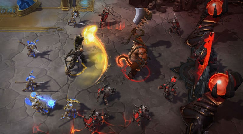 Illustration for article titled Heroes Of The Storm Is Adding More Ways To Punish And Report Toxic Players
