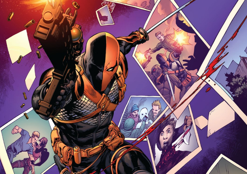 Illustration for article titled Deathstroke Gets Back to Being DC Comics' Biggest Asshole